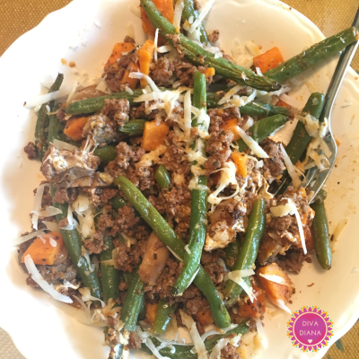 ground beef green bean casserole