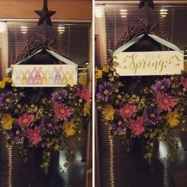 hello spring hoppy easter ink special kit wreath front door (2)